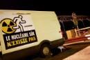 Greenpeacen aktivistit pysäyttivät Flamanvillen ydinvoimalan rakennustyöt
